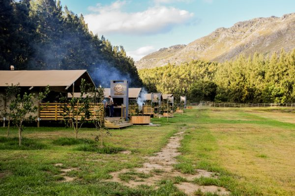 Top 4 campings / glamping in de Western Cape
